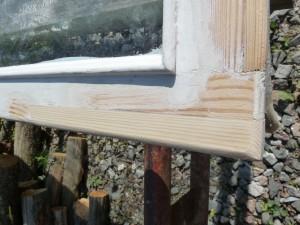 Ikkunanpokan korjaus