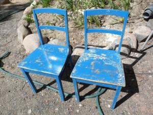 Kunnostettavat tuolit