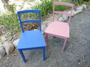 Kunnostetut tuolit
